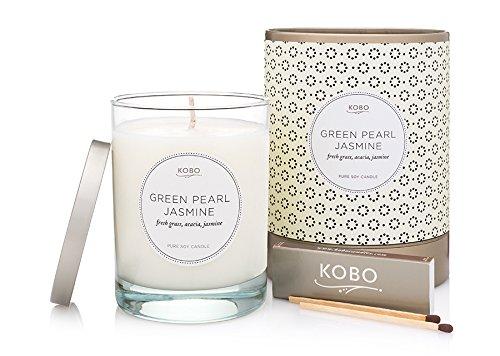Preisvergleich Produktbild Kobo Coterie Kerze Green Pearl Jasmine