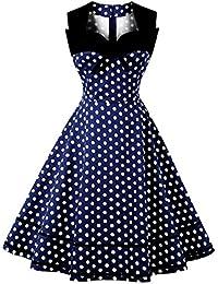 Suchergebnis Auf Amazon De Fur 60er Jahre Midi Kleider Damen