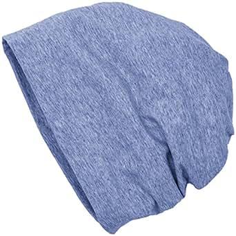 MSTRDS Unisex Erwachsene Jersey Beanie Strickmützen,,per pack Blau (heather Indigo 3827),One Size (one size)