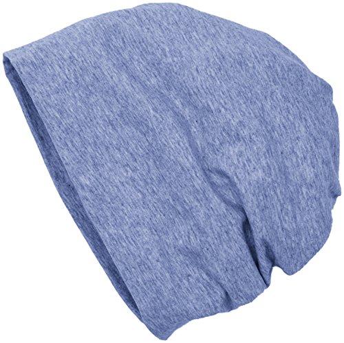 MasterDis Jersey Beanie, Bonnets En Mailles Mixte, Taille Unique Blau (heather Indigo 3827)