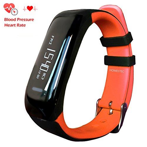 homestec S5 pressione sanguigna bracciale Fitness Tracker Smart Watch con cardiofrequenzimetro sonno gestione pedometro smartwatch (Mantenere Pressione Sanguigna)