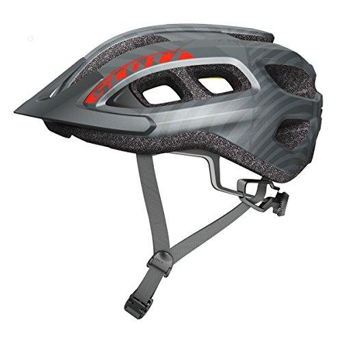 Scott Supra MTB Fahrrad Helm Gr. 54-61cm grau 2018