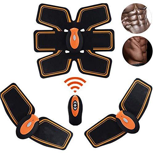 MJLXY Intelligente EMS Hüften Trainer Elektrische Muskelstimulator Drahtlose Gesäß Bauch ABS Stimulator Fitness Körper Abnehmen Massagegerät