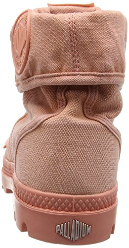 Palladium Damen Pallabrouse Baggy Combat Boots Rosa (Pink)
