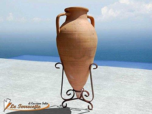 Amphore mit Spitze, 30cm, aus Terrakotta