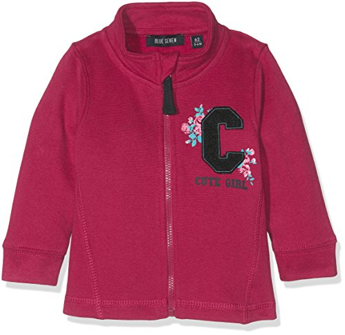 Blue Seven Baby-Mädchen Sweatshirt 957014 X, Rot (Bordeaux Orig 355), 86