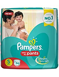 Pampers Pants Small Size Diapers (86 Pieces)