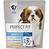 Perfect Fit Junior - Croquettes pourJeune Petit Chienet Chiot (10kg), Riche en Poulet, 4 Sacs de 1,4kg