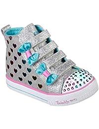 Skechers Shuffle Lite-Fancy Flutters, Zapatillas Altas para Niñas