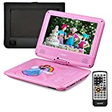 "Best Portable Dvd Players For Children - UEME 9"" Portable DVD Player for Kids Review"