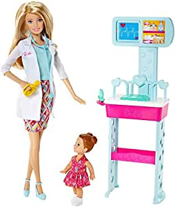 Barbie - Ccp71 - Poupée Mannequin - Docteur