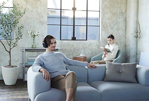 Sony MDR-RF895RK kabellose Kopfhörer (bis zu 100 Meter Reichweite, Geräuschminimierungssystem, 40-mm-Treiber, automatische Frequenzsuche, bis zu 20 Stunden Akkulaufzeit) Schwarz - 12