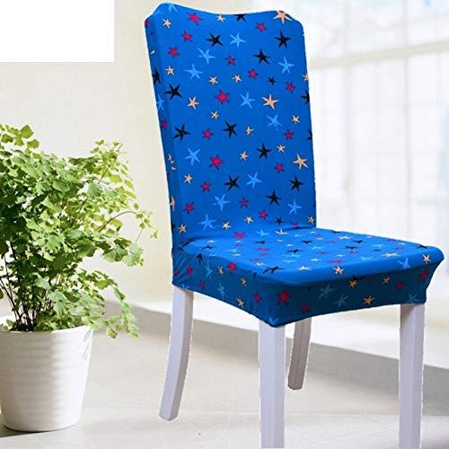 Sishe Stuhl Silpcover Elastischer Stuhlbezug für Haushalt Hoteltisch Stuhlüberzug Stoffbezug Sitzhocker-P by (Farbe : P)