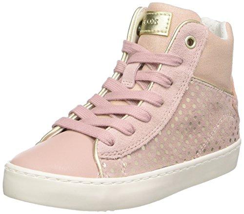Geox Mädchen J Kilwi Girl H Hohe Sneaker, Pink (Rose), 34 EU