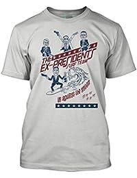 Bathroom Wall Point Break Inspired Ex-Presidents Surf, Men's T-Shirt