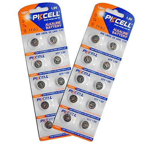 AG9 G9, SR936, SR936 W, SR936SW 394 1.5V Alkaline Batterie 10 Stück