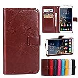 Funda® Flip Brieftasche Hülle für Oukitel U16 Max (Muster 8)