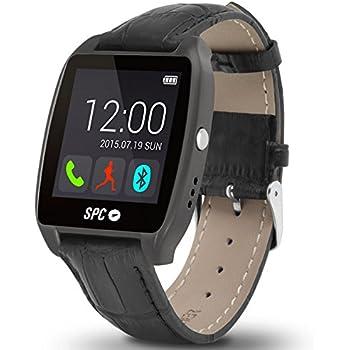 SPC Smartee Watch Edition Reloj Inteligente Negro 9606T - Relojes Inteligentes (Pantalla táctil, Titanio