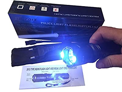 Police Flashlight LED-Taschenlampe Teaser Elektroschocker