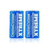 2 Packs of Vaping Outlaws Xtreme Rechargeable 3.6v Vape Battery 9.25Wh (18350 Batteries)