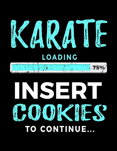 Karate Loading 75% Insert Cookies To Continue: Karate Sketch Book por Dartan Creations