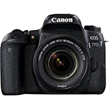 Canon EOS 77D 24.2MP Digital SLR Camera + EF-S 18-55 mm 4-5.6 is STM Lens/Camera Case