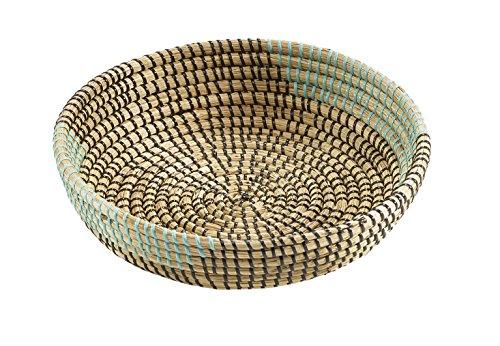 Kobolo Dekoschale aus Seegras Seegrasschale Dekokörbchen Seegraskörbchen -