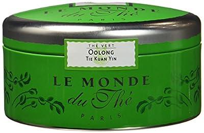 LE MONDE DU THE Thé Oolong Tie Kuan Yin Thé Semi Vert 100 g - Lot de 3