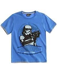 Star Wars T-Shirt Kollektion 2016 Shirt 110 116 122 128 134 140 146 152 Jungen Neu Stormtrooper Blau