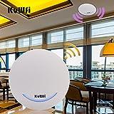 KuWFi Router Wireless AP a soffitto 600Mbps Dual Band 802.11AC Punto di Accesso al Coperto Ripetitore WiFi WiFi Extender con Alimentazione a 48V Poe