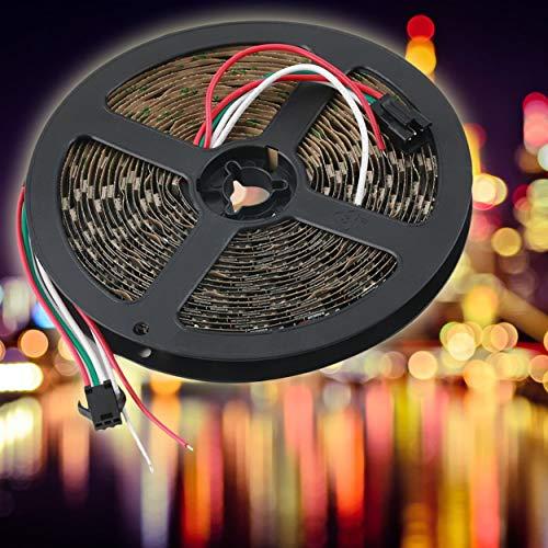 Preisvergleich Produktbild Lorenlli WS2812B 5M 5050 SMD Digital 300 LED Streifen Licht Adressierbare Farbe DC5V für Weihnachtsdekoration