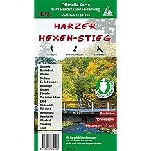 Harzer Hexen-Stieg: Offizielle Karte zum Prädikatswanderweg