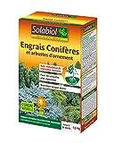 SOLABIOL SOCONY15 Engrais Conifères et Arbustes d'ornement 100% Organique | Action Longue Durée, 1,5 Kg...
