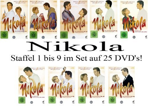 Staffel 1-9 (25 DVDs)