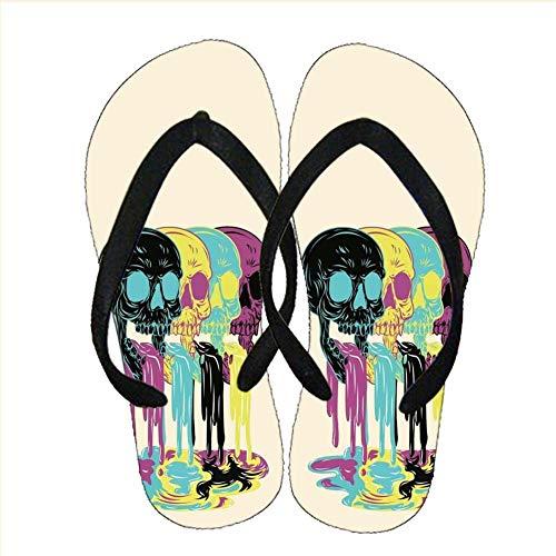 Gogh Yeah Kieselgel Children Qualit?t Design Skull 2 Verwenden Sie Auf Flip-Flops Choose Design 3-2
