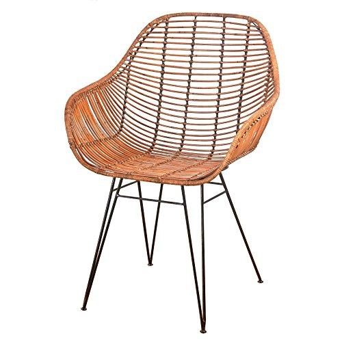 decoracion-vintage-bucket-natural-desmontado-silla-rattan-y-estructura-metalica