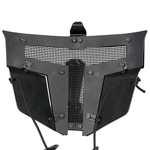 FAST Helm Vollmaske Cool Tactical Mesh Schutzmaske Für Airsoft Paintball -
