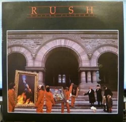 Moving Pictures LP (Vinyl Album) UK Mercury 1981