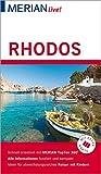 MERIAN live! Reiseführer Rhodos: Mit Extra-Karte zum Herausnehmen