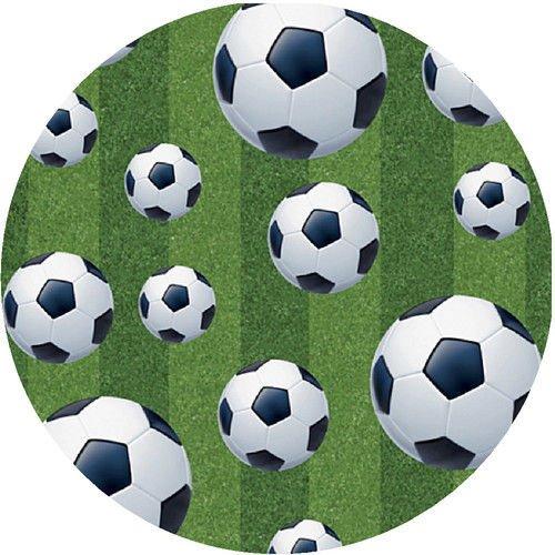 Tortenaufleger Fussball 02