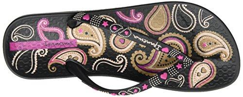 Ipanema Anat. Lovely Vii Fem, Tongs Femme Mehrfarbig (black/pink)