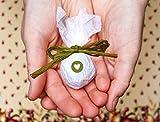Seedball Gastgeschenk mit Herz, Moos