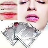 GSTONE Balsam Collagen Lip Mask Feuchtigkeitsspendende Essenz Lippenpflege Peeling Anti-Aging Falten Patch Pad Gel Lippe Behandlung Kristall Lippenpflege Anti-Falten