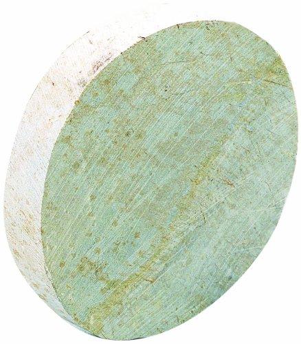Efco Soapstone Disc Unfinished, White