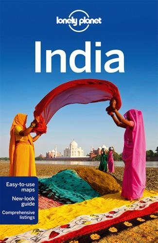 Portada del libro Lonely Planet India (Travel Guide) by Lonely Planet (2013-10-01)