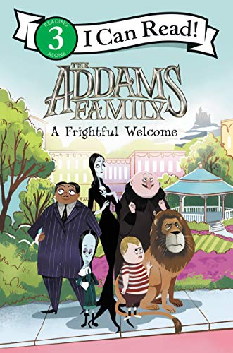 The Addams Family: A Frightful Welcome (I Can Read Level 3) (English Edition) (Addams Halloween Girl Family)
