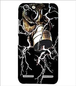 PrintDhaba Fantasy design D-1140 Back Case Cover for LENOVO A6020a46 (Multi-Coloured)