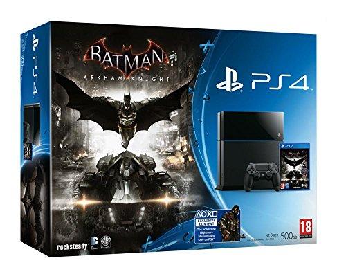 Preisvergleich Produktbild PS4 500GB + BATMAN ARKHAM KNIGHT