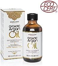 Simon & Tom Aceite de Argán orgánico puro de Marruecos prensado en frío certificado por Ecocert 100ml
