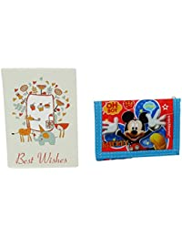 Disney Mickey Mouse Kids Billetera Monedero Bolsillo V